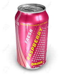 Drinks Can Design Raspberry Soda Drink In Metal Can Design Is My Own All Text