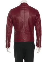 5 zip leather jacket