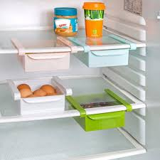 1pcs slide kitchen fridge freezer space saver organizer1 min