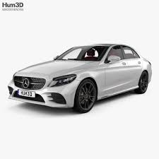 This will be the interior of the. Mercedes Benz C Class Amg Line Sedan With Hq Interior 2018 By Humster3d
