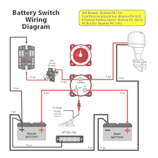 marine dual battery wiring diagram for extraordinary boat inside how to hook up dual batteries in a boat at Dual Battery Switch Wiring