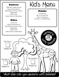 11 Best Photos Of Menu Restaurant Food Coloring Page Food