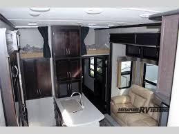 keystone carbon fifth wheel toy hauler interior