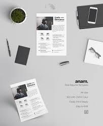 Easy Free Resume Templates Free Anam Resume Template Creativetacos