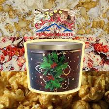 boughs of holly gourmet popcorn gift tin 2 gallon