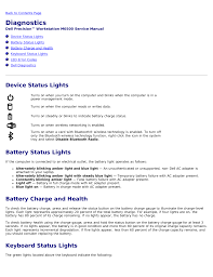 Dell Precision Light Codes Diagnostics Device Status Lights Battery Status Lights