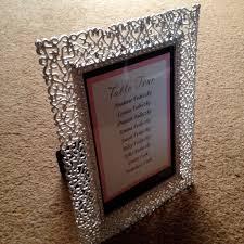 silver filigree frame