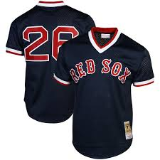 Authentic Sox 1992 Mitchell Ness Blue Boston Jersey Collection Red Navy Wade Batting Cooperstown Practice Boggs - amp;|Going With Powder Blue Full Time