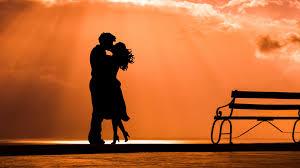 Wallpaper Couple, Kiss, Love - Love ...