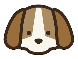 dog face clipart. Interesting Dog Easy Dog Clipart  Kid With Face