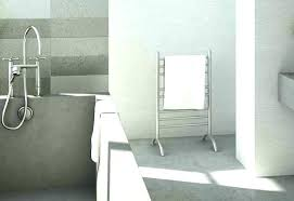 free standing electric towel rail with timer freestanding warmer bathroom heated racks frees