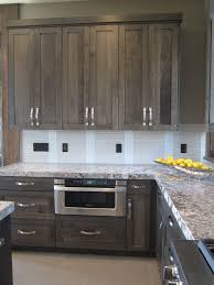 Gray Stained Kitchen Cabinets Really Like The Color Of The Cabinets Would Like Different