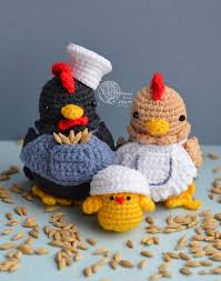 Crochet Chicken Pattern Awesome Design
