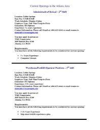 Sample Resume For Packer Job Warehouse Picker Resumes Tolgjcmanagementco 63