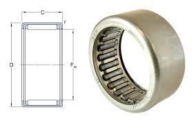 Skf Needle Bearing Size Chart Hk2526 Skf Drawn Cup Needle Roller Bearing 25x32x26mm Drawn