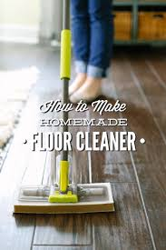 How To Clean Bathroom Floor Enchanting How To Make Homemade Floor Cleaner VinegarBased Live Simply