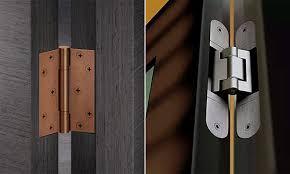 Виды дверных петель, их различие и конструктивные ...