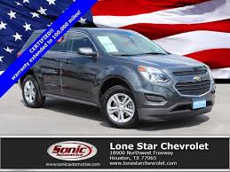 Certified Used 2017 Chevrolet Equinox LS For Sale in Houston TX ...