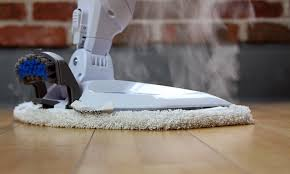 steam mop on hardwood floors