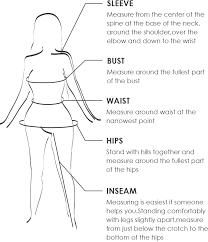 Zaful Size Chart Zaful Size And Fit Guides