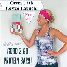 costco chocolate on instagram this thursday is the orem costco launch of g2gbar bars this is the best