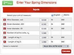 Garage Door Spring Chart Garage Door Torsion Spring Size
