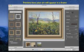 Picture Framing And Photo Borders Application Imageframer For Mac