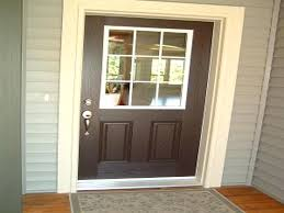 exterior door painting ideas.  Ideas Entry Door Paint Exterior Trim Ideas Molding And Painting  Doors Mini Blind Painted   Throughout Exterior Door Painting Ideas