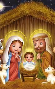 Christmas Jesus Born Artwork 4K Ultra ...