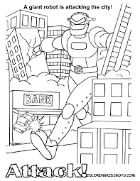 Coloring page based on art from among us. Cartoon Coloring Pages Adventures Of Fearless 1 Free