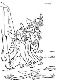 Small Picture Shenzi banzai and ed hyenas coloring pages Hellokidscom