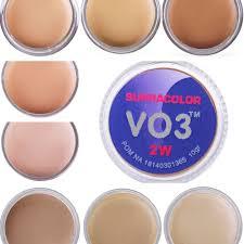 kryolan supracolor se makeup foundation matte full cover 10g choose colour