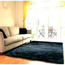 faux sheepskin rug area black fur sheep skin black faux sheepskin rug
