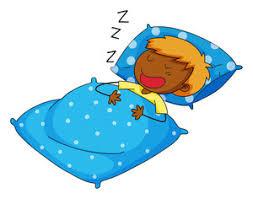 blue pillow clipart. closeup boy sleeping on blue pillow clipart