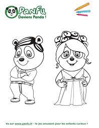 30 Dessins De Coloriage Panda Imprimer