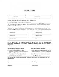 now gift letter sle template
