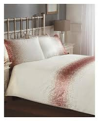 shimmer sequin blush pink king size duvet cover set