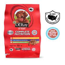 Ol Roy Complete Nutrition Dry Dog Food 50 Lb Walmart Com