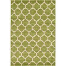 trellis light green 4 x 6 rug