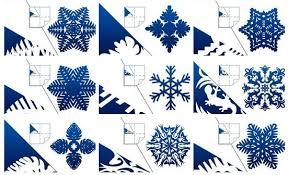 How To Diy Kirigami Snowflake F Paper Snowflake Templates Wcc Usa Org