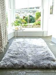 large grey faux fur rug large sheepskin area rug crafty large fur rug stylish ideas best large grey faux fur rug