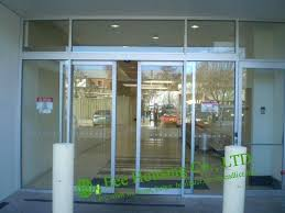 automatic sliding doors for glass door office commercial glassd