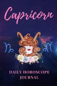 Amazon Com Capricorn Daily Horoscope Journal Prompted