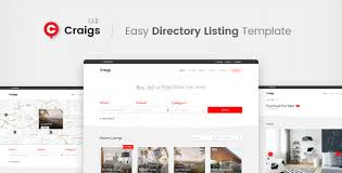 Listing Template Craigs Directory Listing Template By Themestarz Themeforest