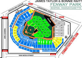Fenway Park Pearl Jam 2018 Seating Chart Red Sox Seating Chart View Fenway Park Boston Red Sox The