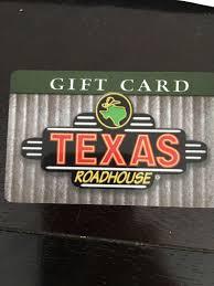 50 texas roadhouse gift card