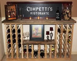 image of homemade wine rack ideas