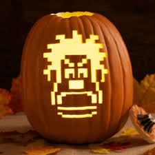 disney pumpkin carving kit. it\u0027s game on with this wreck-it ralph pumpkin carving template! use your crafting skills to create a halloween masterpiece worthy of first place finish. disney kit