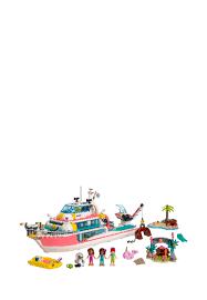 <b>LEGO Friends Катер для</b> спасательных операций 41381: 6999 ...