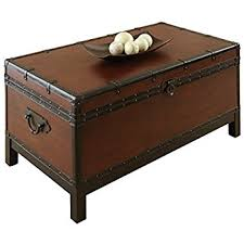 Marvelous Steve Silver Company Voyage Trunk Style Cocktail Table Great Pictures
